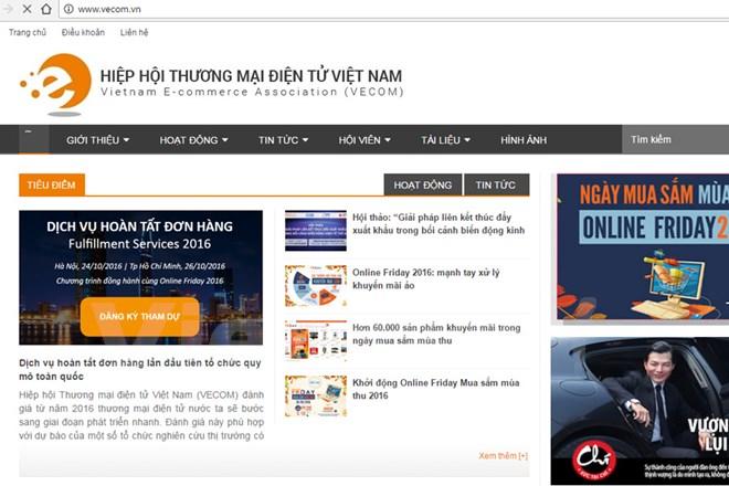 Website Hiệp hội TMĐT được thiết kế miễn phí bởi Bizweb